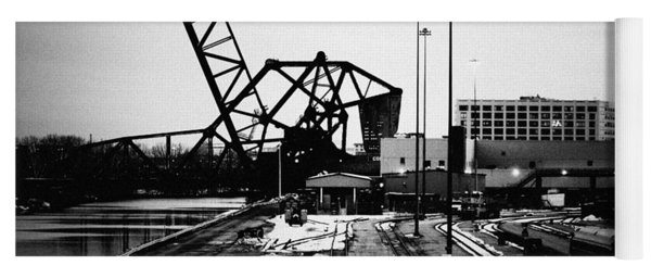South Loop Railroad Bridge Yoga Mat