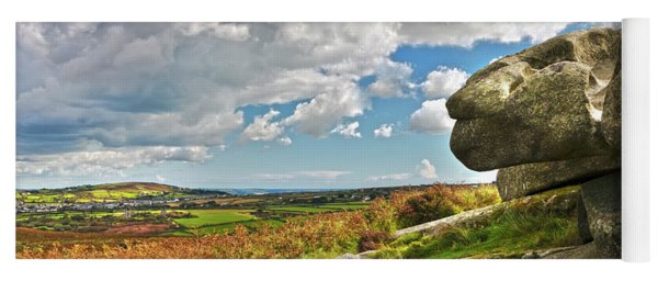 South Of Carn Brea Yoga Mat