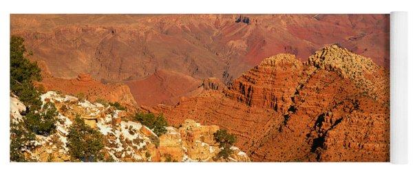 South Rim Of The Grand Canyon, Arizona Yoga Mat