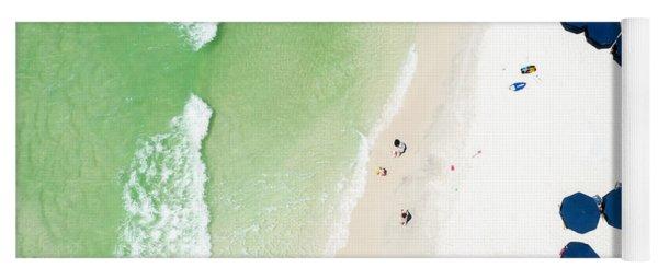 Sowal Beach Umbrellas Aerial Yoga Mat