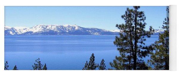 Spectacular Lake Tahoe Yoga Mat