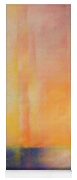 Spectral Sunset Yoga Mat