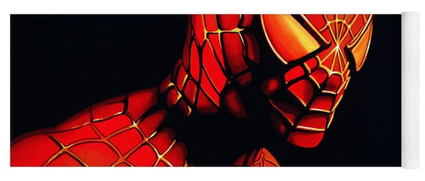 Spiderman Yoga Mat