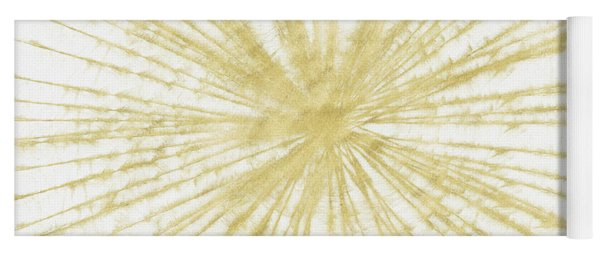 Spinning Gold- Art By Linda Woods Yoga Mat