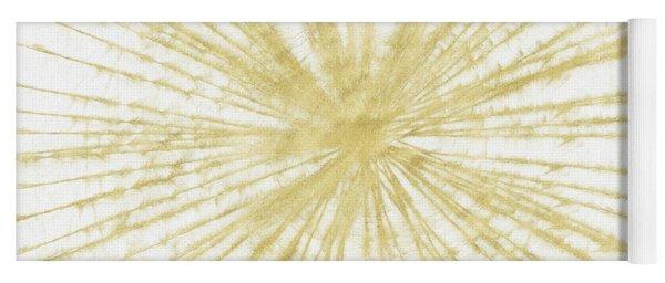 Spinning Gold- Art By Linda Woods Yoga Mat