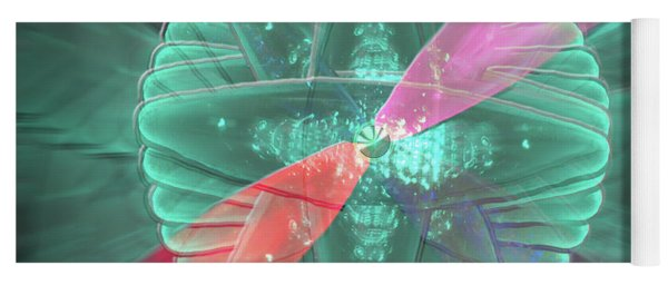 Yoga Mat featuring the photograph Spinning Lights by Rockin Docks Deluxephotos