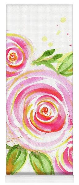 Spiral Pinks  Yoga Mat