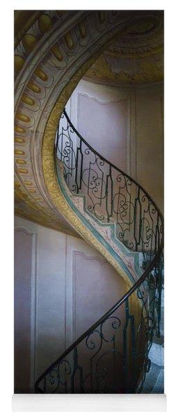 Spiral Staircase Melk Abbey II Yoga Mat