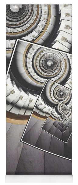 Spiral Staircase Yoga Mat
