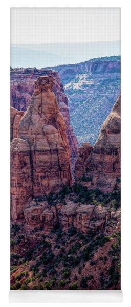 Spires And Mesa Country Yoga Mat