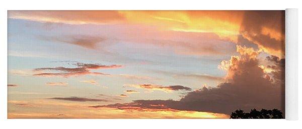 Spiritual Sunset Yoga Mat
