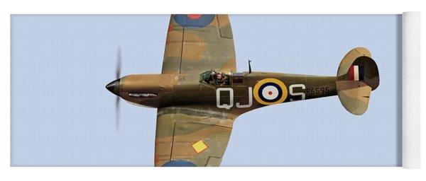 Spitfire Mk 1 R6596 Qj-s Yoga Mat