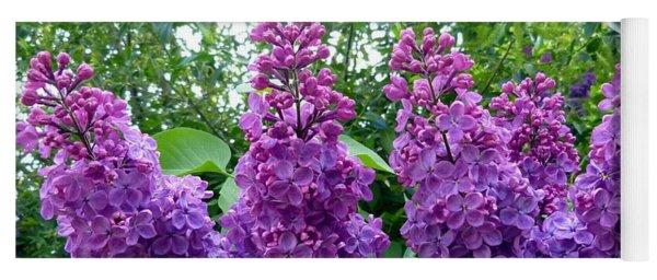 Splendid Lilacs Yoga Mat