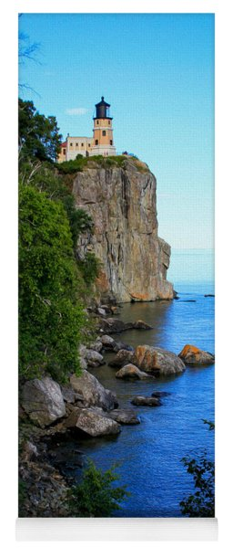Split Rock Lighthouse Yoga Mat