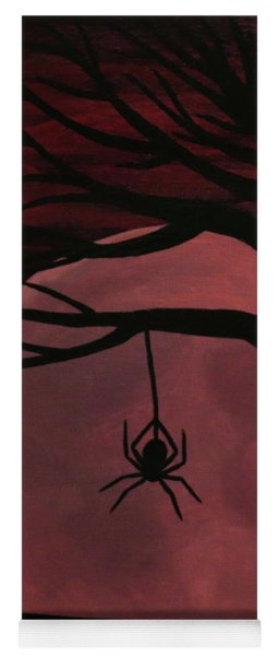 Spooky Spider Tree Yoga Mat