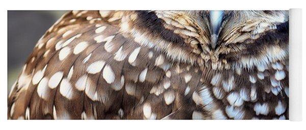 Spots - Burrowing Owl Yoga Mat