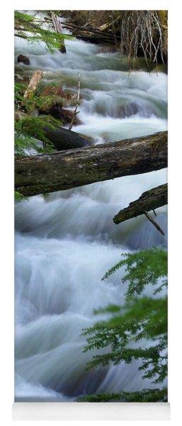 Sprague Creek Glacier National Park Yoga Mat