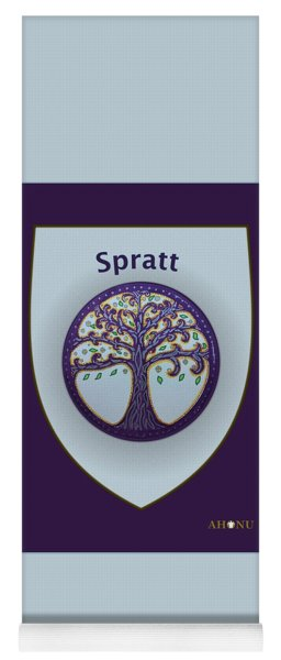 Spratt Family Crest Yoga Mat
