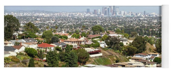 Sprawling Homes To Downtown Los Angeles Yoga Mat