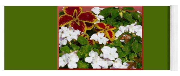 Spring Annuals Yoga Mat