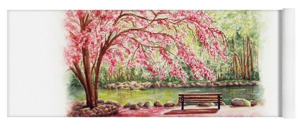 Spring At Lithia Park Yoga Mat