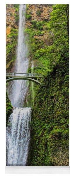 Spring At Multnomah Falls Yoga Mat