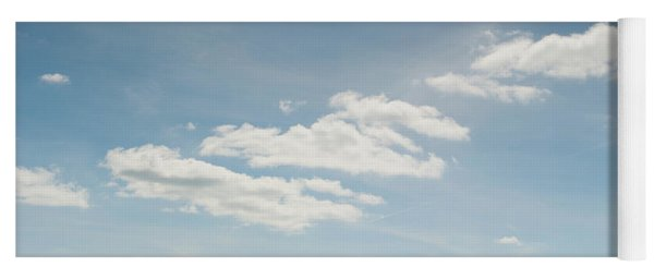 Spring Day Clouds Yoga Mat