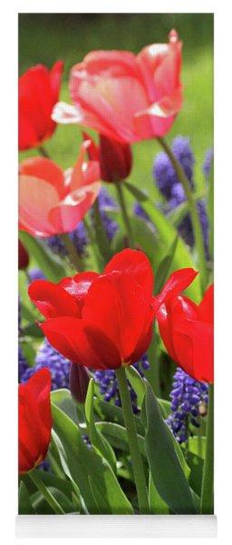 Spring Garden Yoga Mat
