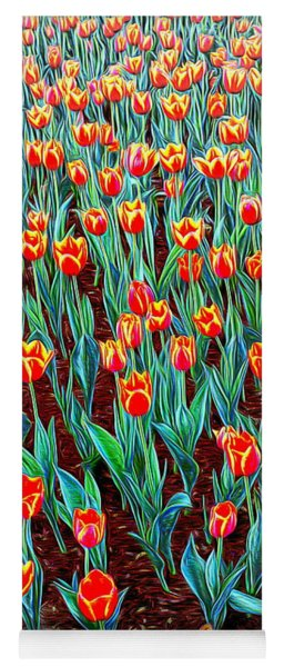 Spring In Holland Yoga Mat