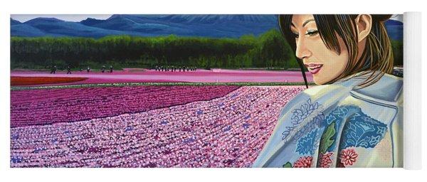 Spring In Japan Yoga Mat