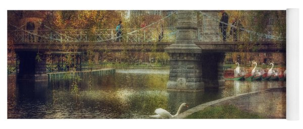 Spring In The Boston Public Garden Yoga Mat