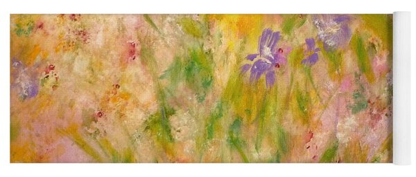 Spring Meadow Yoga Mat
