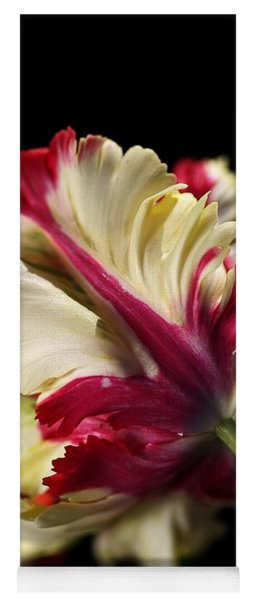 Spring Parrot Tulip Yoga Mat