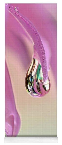 Spring Raindrop By Kaye Menner Yoga Mat