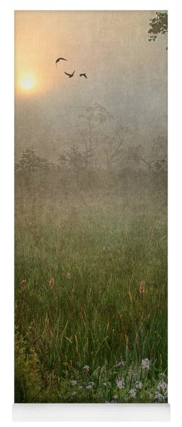 Spring Sunrise In The Valley Yoga Mat