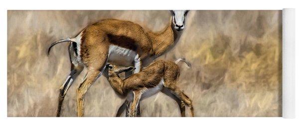 Springbok Mom And Calf Yoga Mat