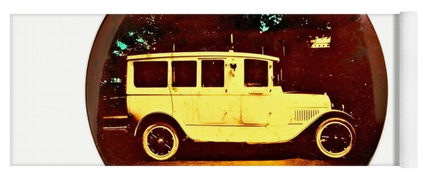Springs Motor Ambulance Grand Rapids Michigan 1915 Yoga Mat