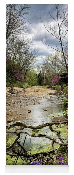 Springtime At The Creek Yoga Mat