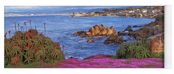 Springtime In Pacific Grove Yoga Mat