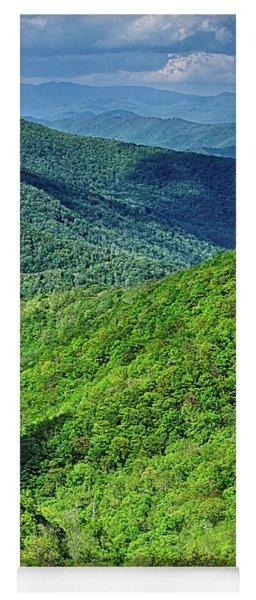 Springtime In The Blue Ridge Mountains Yoga Mat