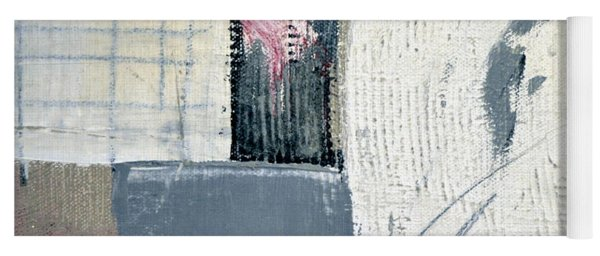 Yoga Mat featuring the painting Square Study Project 12 by Michelle Calkins
