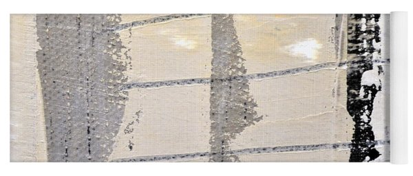 Yoga Mat featuring the painting Square Study Project 2 by Michelle Calkins