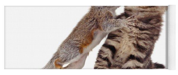 Squirrel Kiss Yoga Mat
