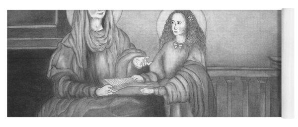 St. Anne And Bvm Yoga Mat