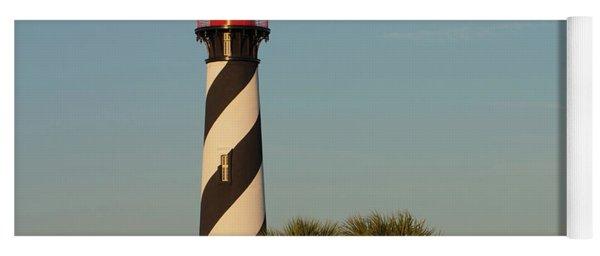 St. Augustine Lighthouse #3 Yoga Mat