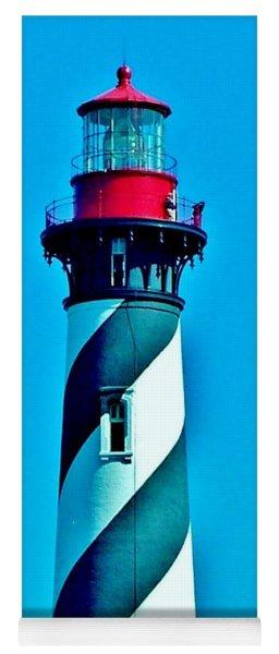 St. Augustine Lighthouse Yoga Mat