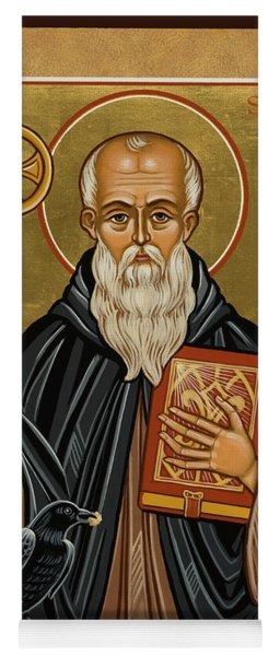 St. Benedict Of Nursia - Jcbnn Yoga Mat