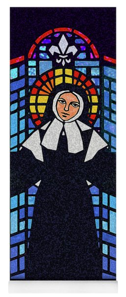 St. Bernadette Of Lourdes - Window - Dpbew Yoga Mat