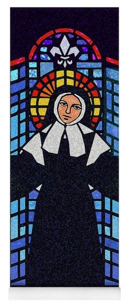 St. Bernadette Of Lourdes - Window - Dpbew Yoga Mat