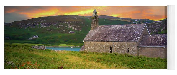 St. Brendan The Navigator Church Of Ireland In Crookhaven Yoga Mat